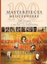 100 Masterpieces *s* 500 Years Of Music+Painting